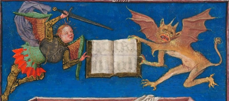 fighting over a book