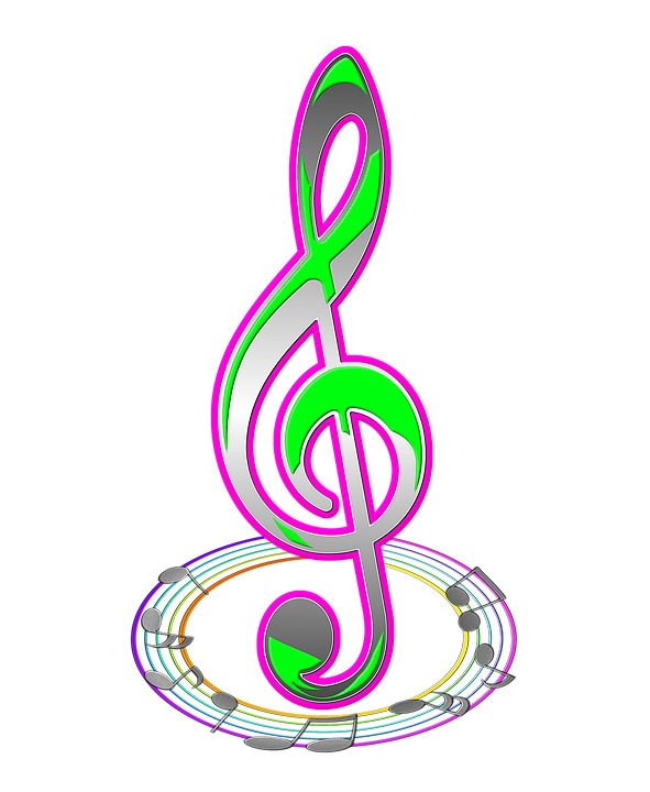 Красивые картинки с нотами и скрипичным ключом