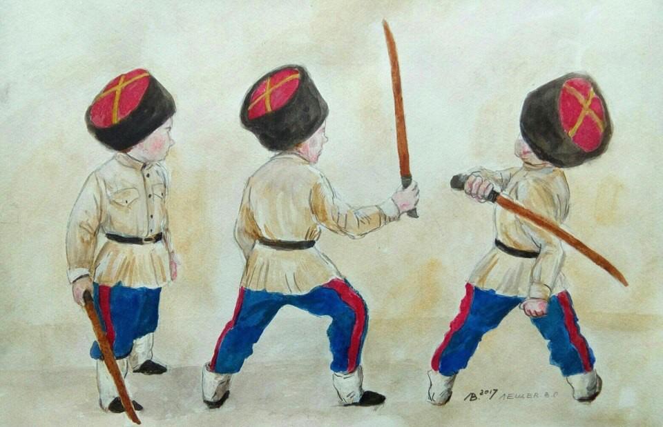 Картинки казачата для детей