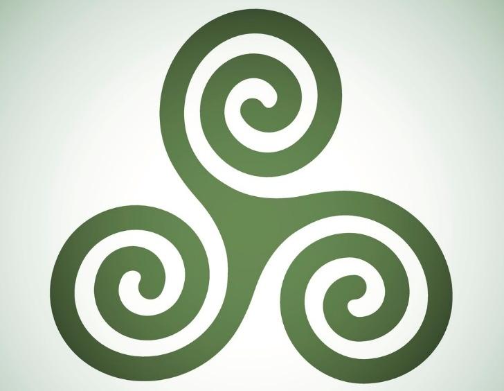 Картинка три спирали